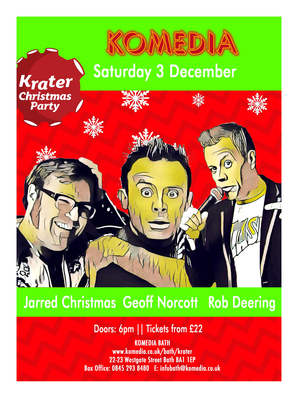 krater-christmas-party-3-december - Komedia