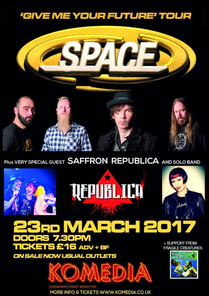 Space & Saffron