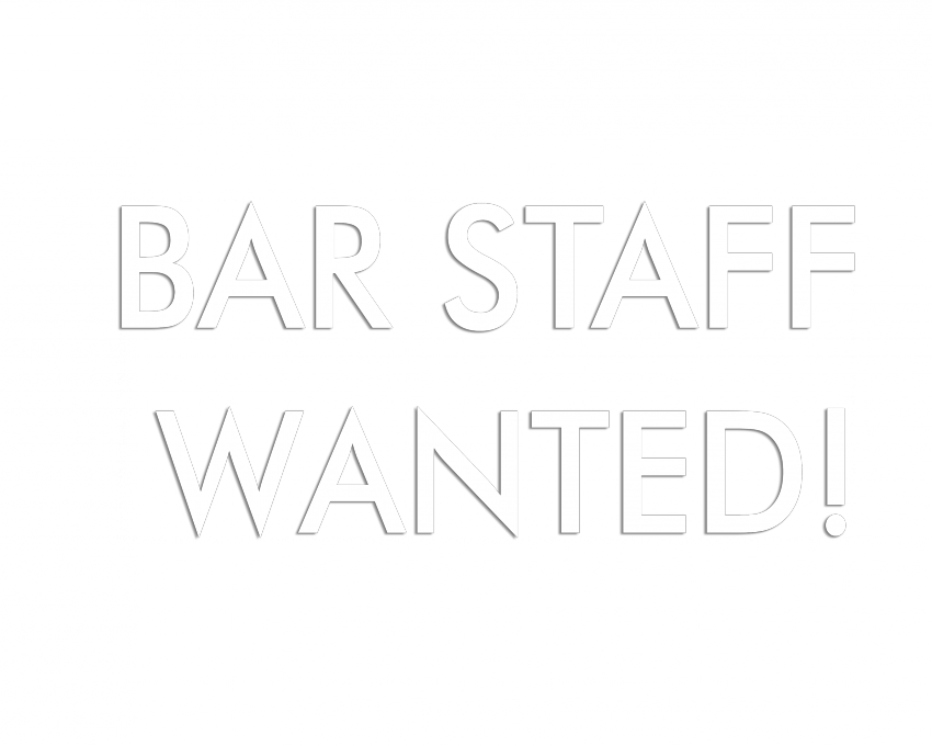 We're hiring! Join our awesome team of bar and waiting staff here at Komedia Bath!