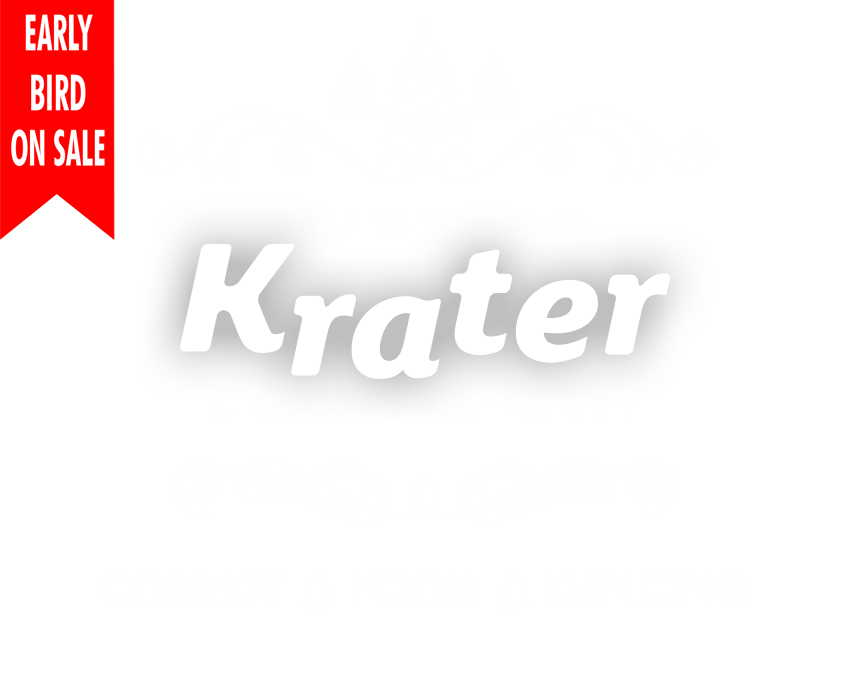 Krater Christmas Party 2018 early bird tickets