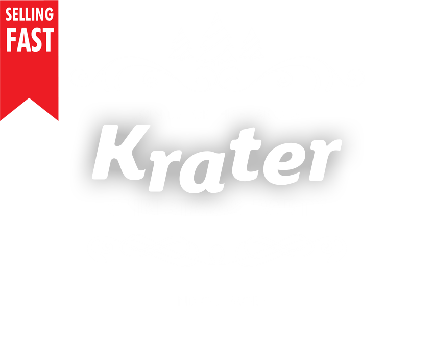 Krater Christmas Party 2018 - Selling Fast