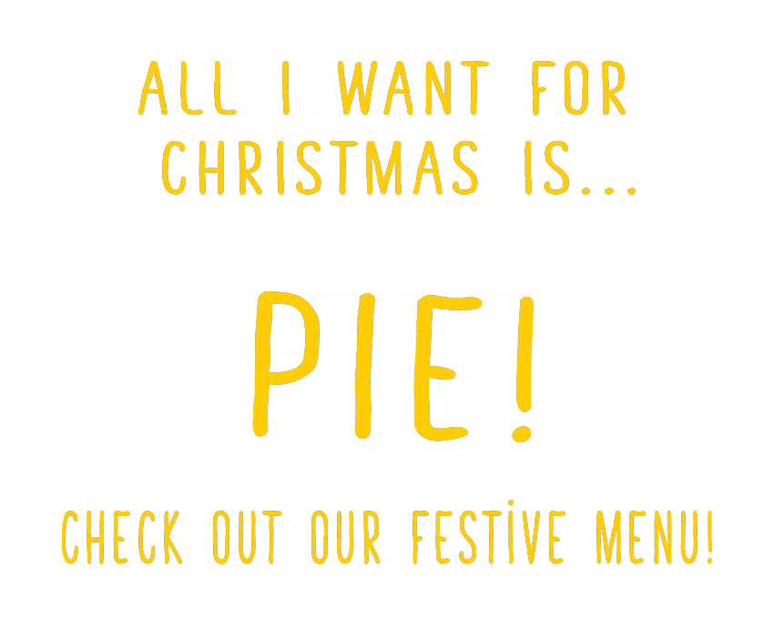 All I want for Christmas is Pie! 