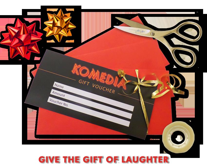 Komedia Gift Voucher 2019