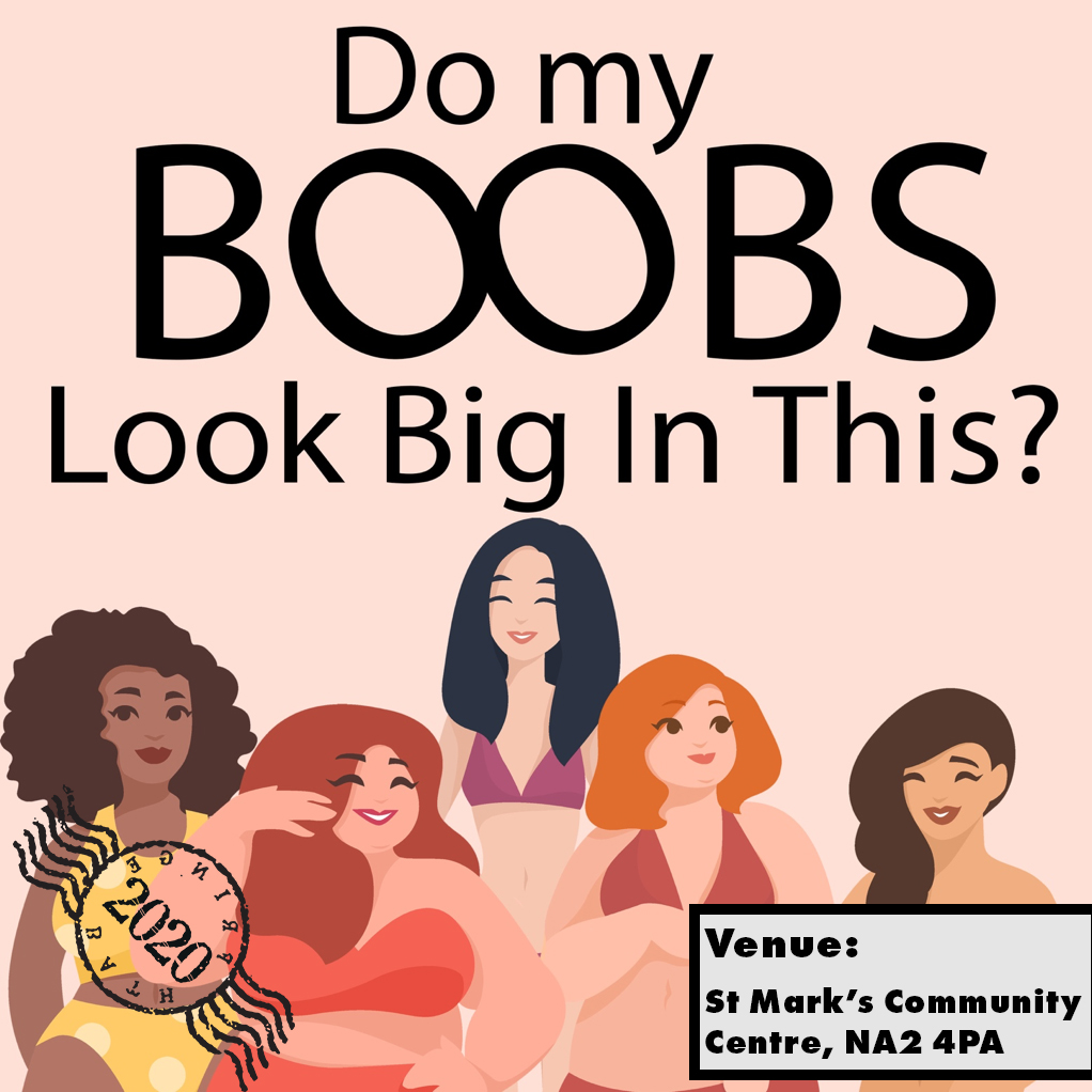 DO MY BOOBS LOOK BIG IN THIS?